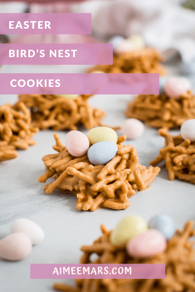 Pinterest Image No-Bake Haystack Cookies