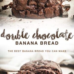 double chocolate Pinterest pin