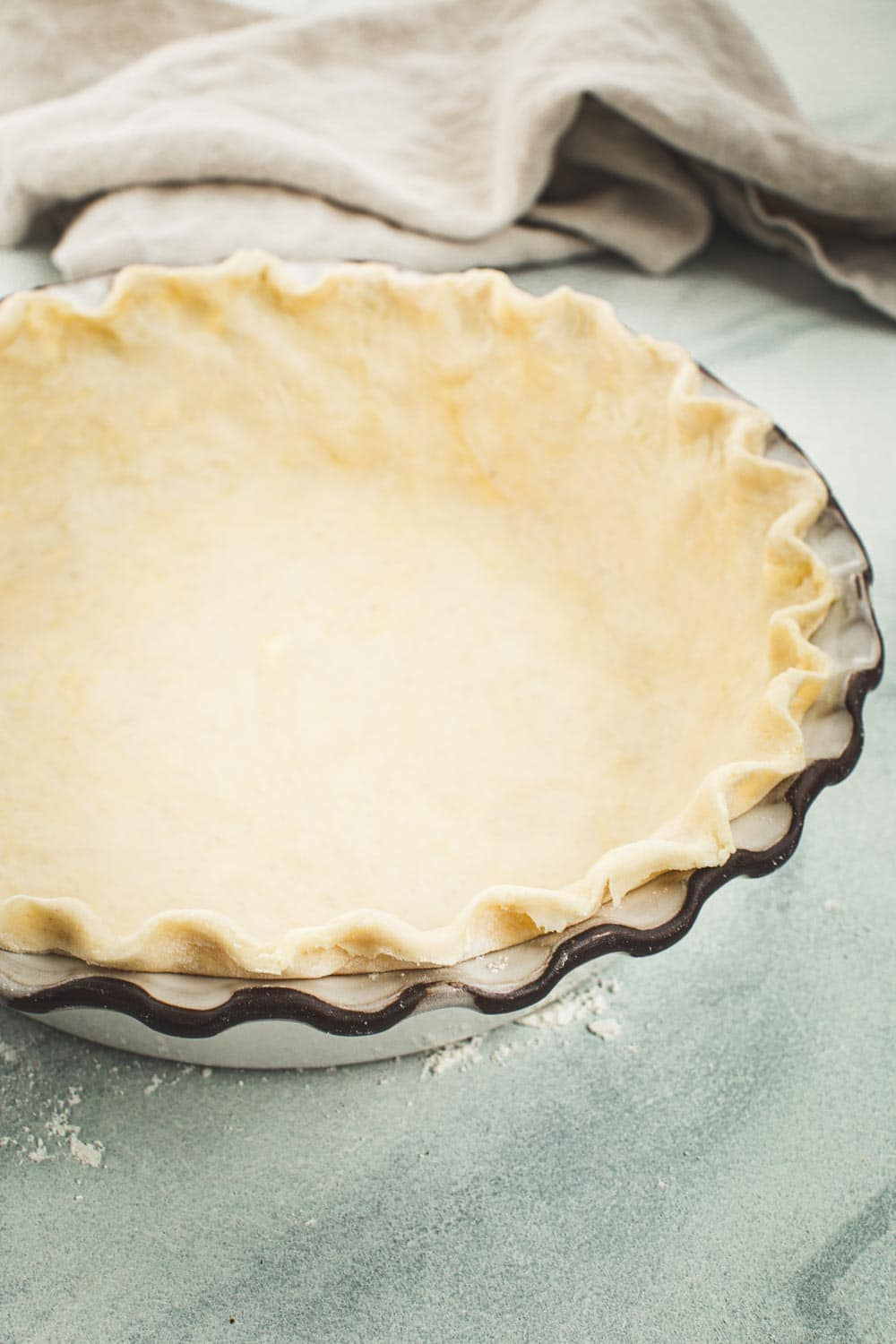 The Best Homemade Flaky Pie Crust Recipe With Shortening And Butter Aimee Mars