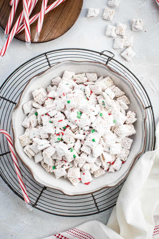 Peppermint Puppy Chow Aimee Mars