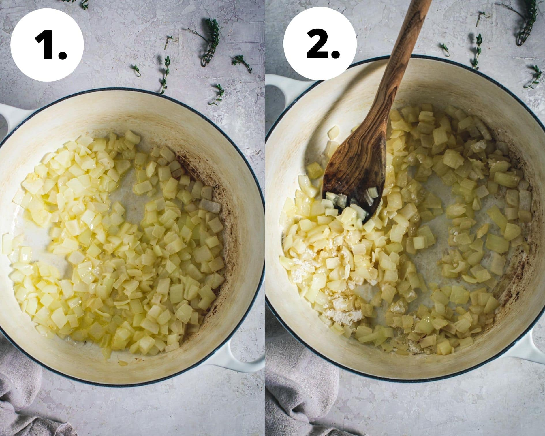 Best creamed corn process steps 1 and 2.